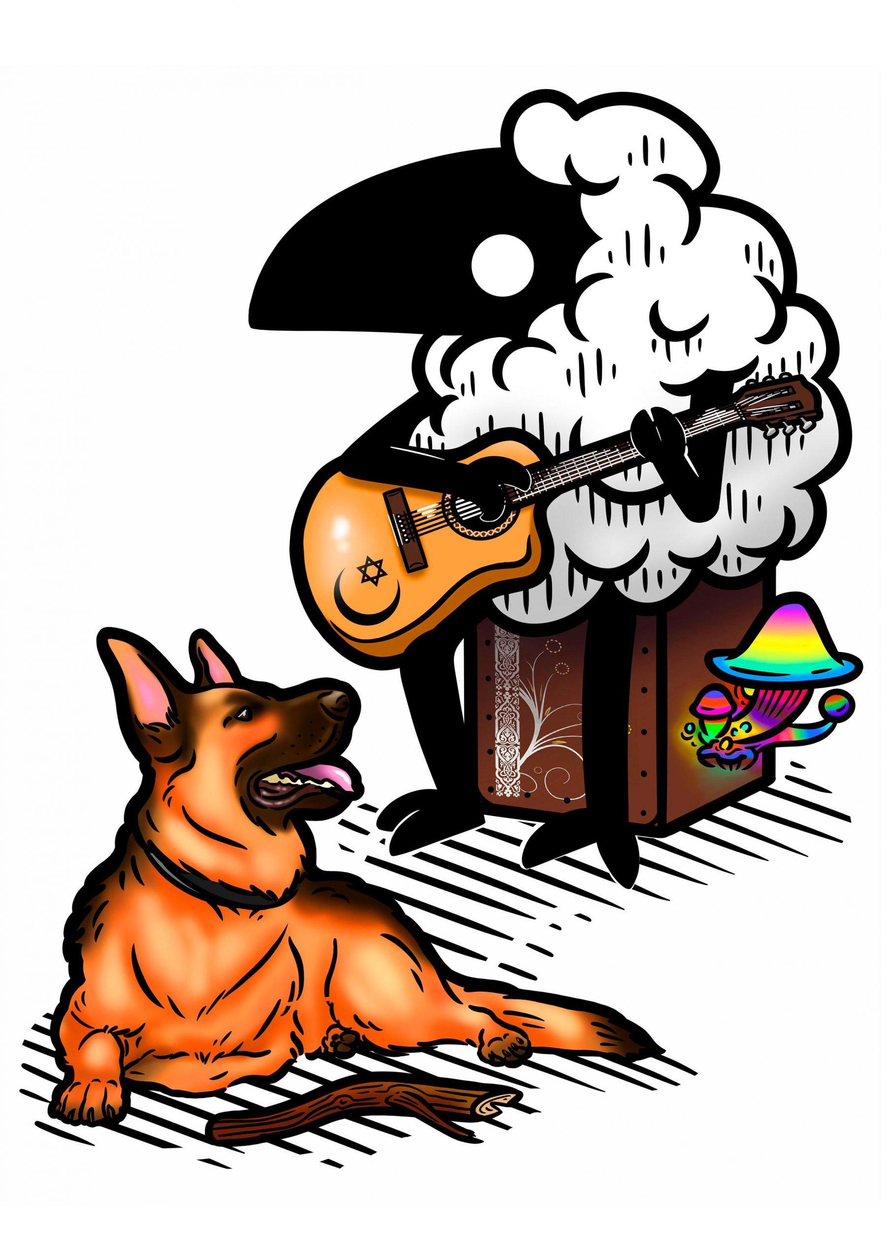 Regalo de cumpleaños para un Inopia como pocos, y para su perro Faruk.
